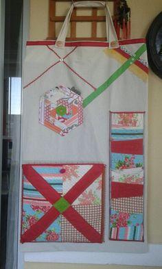Quilt rulers/material hanging bag!
