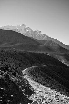 Schmaler Bergweg! #Berge #Wandern #Weg #schwarzweiß #Fotografie #eindrucksvoll