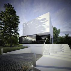 3 Poziomy domu by S3NS Architektura - Igor Kazmierczak, via Behance