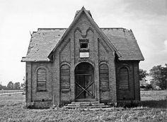 Schoolhouse Laud,Indiana,US.