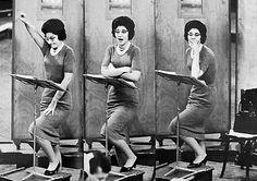 Maria Callas in a rehearsal. | opera