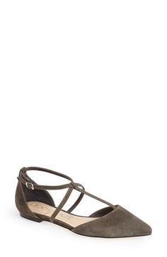 Sole Society 'Chandler' Pointy Toe Flat (Women) available at #Nordstrom