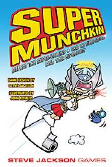 Super Munchkin expansions and stand alone game