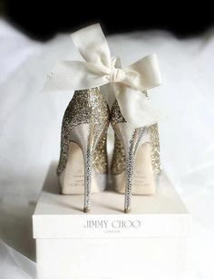Jimmy Choo: the cinderella project: because every girl deserves a happily ever after: Tuesday: Glitter and Bows