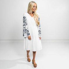 Etta Flower Dress – Shop Stevie