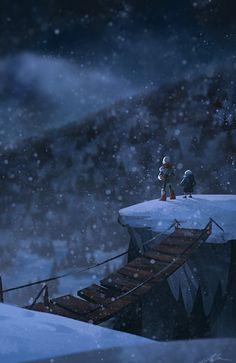 Skelebrothers overwatch the horizon~