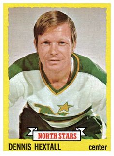 1973 Topps Dennis Hextall Minnesota North Stars