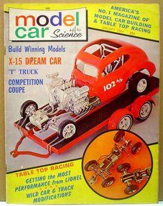 Model Cars Magazine 1966 Model Car Science Magazine Lot April