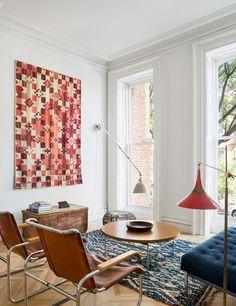 brownstone,modern,design,mid century