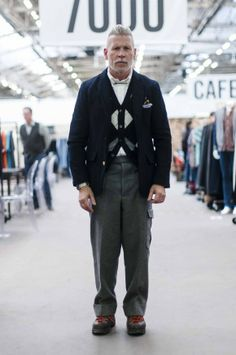 Everything Dealing w/ Nick Wooster::Fashion::Design. Most Stylish Men, Stylish Man, Nick Wooster, Modern Gentleman, Fashion Advice, Fashion Styles, Fashion Project, Sexy Men, Perfect Fit