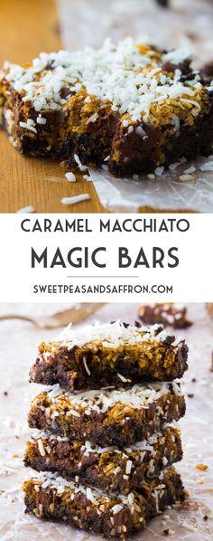 Coconut Caramel Macchiato Magic Bars   sweetpeasandsaffron.com @sweetpeasaffron