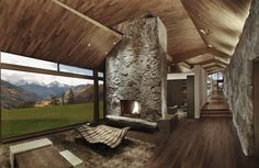 Fascinating home in the snowy drifts of Wildcat Ridge