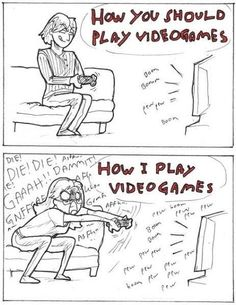Lol! so true. almost every time i play i get so pissed and end up flipping off my tv hahaha