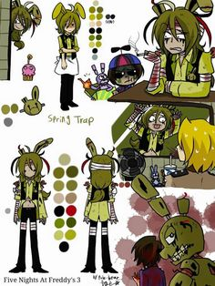 "springtrap I like how balloon boy is like ""dude really? This is a kids place u don't smoke here."" And springtrap is like ""so what? I'll smoke if I want to"""