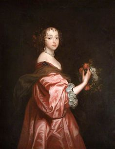 Portrait Of Lady Catherine Howard (d.1650), Lady d'Aubigny, Later Countess of Newburgh by Sir Anthony van Dyck (Flemish, 1599-1641)