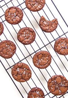 Nutella Sea Salt Cookies