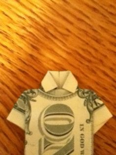 How to Fold a Dollar Bill Into a Shirt