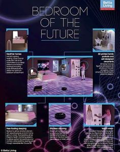 شاهد بالصوركيف ستبدو غرف النوم في المستقبل؟!