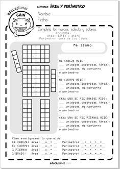 robot area perimetro educaplanet #AREA #matematicas #ejercicios #aula #profesores #primaria #homeschooling #repaso Math 5, 5th Grade Math, Fun Math, Math Games, Teaching Math, Math Properties, Math Classroom Decorations, Geometry Problems, Area And Perimeter
