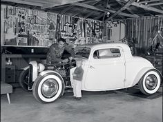 Old real hot rod picture.... NOT a fuggin RAT ROD!