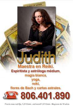 La #GranJudith #MaestradeReiki #Espiritista #MagiaBlanca