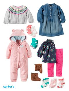 Fall bucket list for babies: Easy outfit sets, cozy jumpsuits and boots!