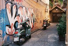 Film Photography, Street Photography, Film Camera, Bangkok, Graffiti, Desktop, Etsy Shop, Digital, Wallpaper