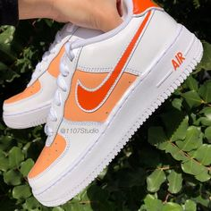 New Nike Shoes, Nike Air Shoes, Air Force One Shoes, Nike Air Force, Custom Shoes, Custom Clothes, Custom Sneakers, Basket Vintage, Custom Air Force 1