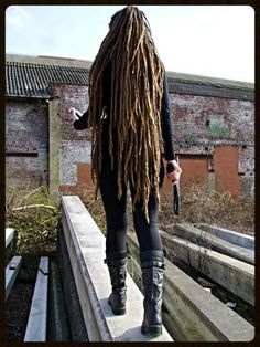That's what I'm working on! -- really looooong #Dreadlocks