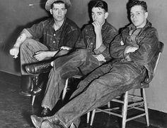 American teenagers, circa 1955. Lots of Levi's love.