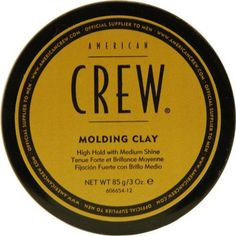 American Crew Molding Clay Hair Styling Waxes***Size: 3 oz.Molding Clay was launched by the design house of American Crew,This is a clay that comes in retail packaging,It is recommended for normal hair,.