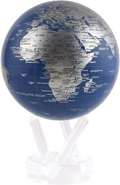 Fit in any Room at home or office. Red Globe with Marble Base