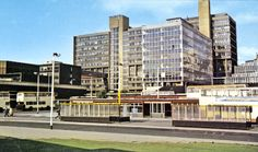 Polytechnic (later became Hallam University and Pond Street Bus Station