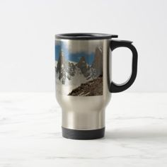 #Glacier National Park mountains Argentina Travel Mug - #travel #accessories