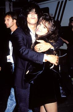 Nikki Sixx and ex wife Brandi Brandt