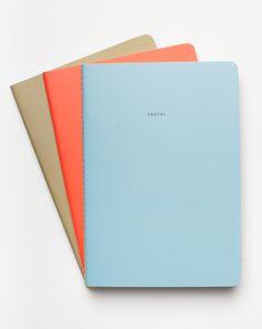 The School of Life Set of Three Pessimist Notebooks
