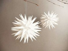 How to make a Polish Paper Star. It's easier than you think!