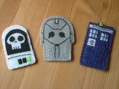Dr who finger puppets