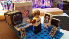 #retro #lego #computers #comodore Computers, Lego, Legos