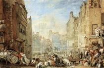 Heriot's Hospital, Edinburgh - William Turner