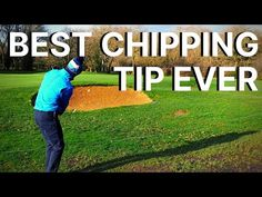 In this golf lesson I hope to give you the BEST CHIPPING TIP EVER - This video will help you improve your short shots around the putting green. Many golfers . Short Game Golf, Golf Chipping Tips, Golf Tips Driving, Golf Putting Tips, Golf Videos, Golf Instruction, Golf Tips For Beginners, Golf Training, Golf Lessons