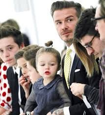 david beckham with his daughter 2014 - Google Search
