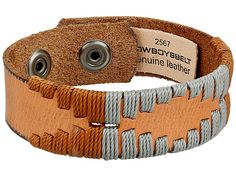 The 2567 Cuff has an eye-catching look that will appeal to your Western-inspired style.Genuine leather bracelet.Features leather woven design.Adjustable snap closure.Imported. Measurements:Width: 4 5 inDiameter/Length: 8 inWeight: 0.4 oz