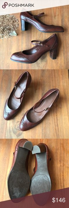Etienne Aigner next to new Mary Jane pumps, 8.5 Adorable! Only worn once or twice. In great condition. No flaws or blemishes. Makes for one classy lady! Etienne Aigner Shoes Heels