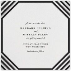 Paperless Post - Browse - PAPER Wedding Save the Dates