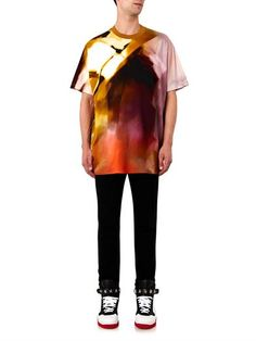 Givenchy's Riccardo Tisci took inspiration from the vibrant colours of the Bauhaus movement this season, and this wool T-shirt is printed with a vivid mélange of hues. It's cut to the label's oversized Columbian fit and features a traditional crew neck. RRP: £510.00 (matches fashion)