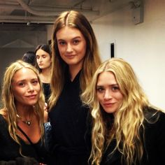 OLSENS ANONYMOUS MKA INSTAGRAM SPOTTINGS PART 2 MODEL POSE THE ROW SS 2014 LONG WAVY HAIR BACKSTAGE NECKLACE SWEATER WET HAIR 5 photo OLSENSANONYMOUSMKAINSTAGRAMSPOTTINGSPART2MODELPOSE5.jpg