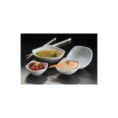 American Metalcraft SQSC40 4 oz Squound Ceramic Sauce Cup