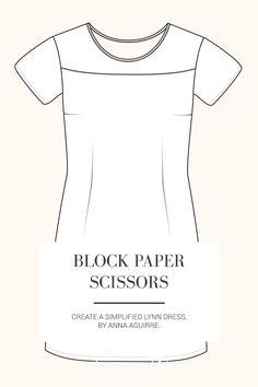Block Paper Scissors | Patternmaking Hacks