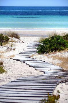 Island Beach, Kangaroo Island, South Australia by Martin Lomé